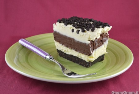 Chocolate lasagna