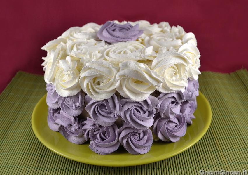 Favorito Rose cake - La ricetta di Gnam Gnam AR15