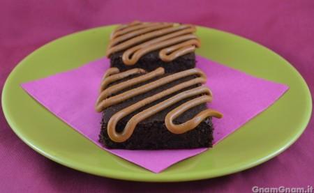 Brownies al burro d'arachidi