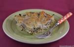 Pasta al forno con carciofi e salsicce