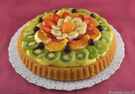 Crostata morbida alla frutta - Video ricetta