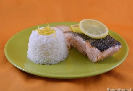 Salmone al limone