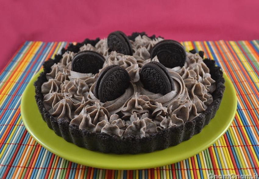 Ricetta della torta agli oreo