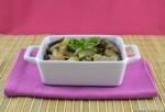 Zucchine con cipolle e olive