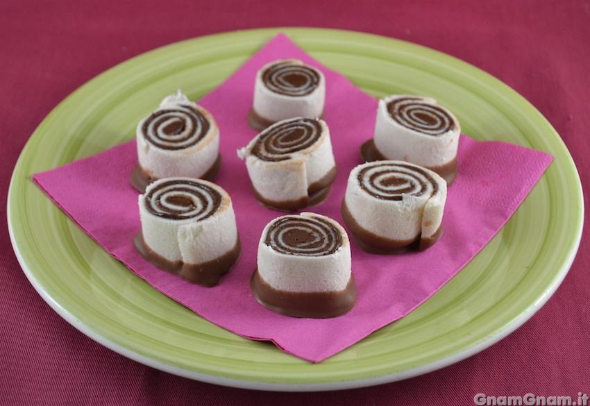 Girelle alla nutella facili e veloci la ricetta di gnam gnam for Ricette facili dolci