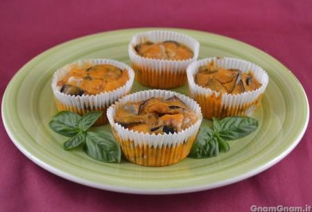 Muffin alla parmigiana