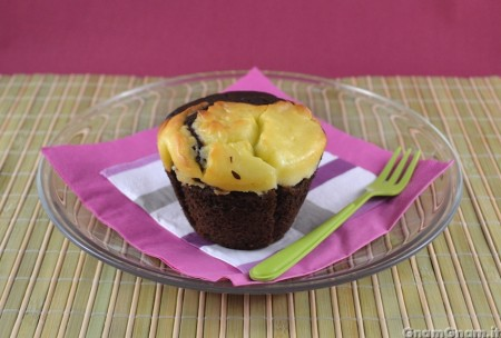 Cheesecake muffin