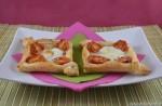 Sfogliatine pomodoro e mozzarella