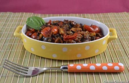 Melanzane a funghetto light