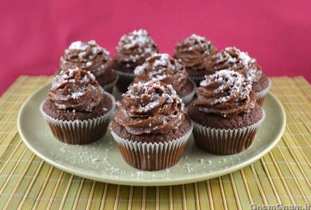 Cupcake cocco e nutella - Video ricetta