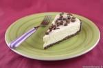 Cheesecake al cioccolato bianco senza gelatina