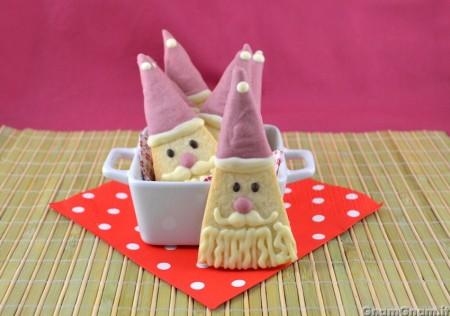 Biscotti di Babbo Natale semplici