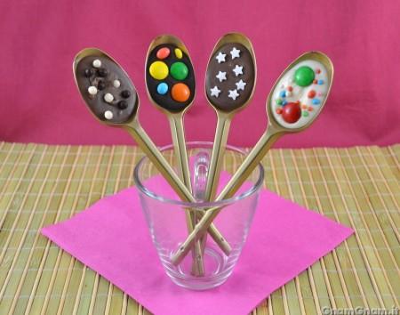 Cucchiaini al cioccolato