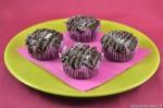Muffin vegani cocco e cioccolato