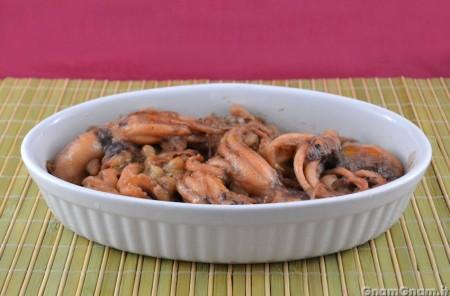 Polipetti con i fagioli