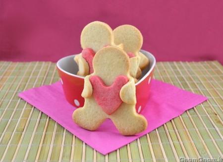 Biscotti di San Valentino semplici