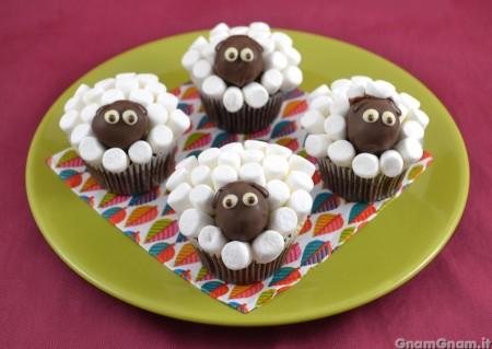 Pecorelle di cupcake