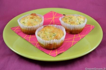 Muffin senza glutine alle zucchine