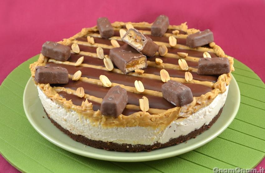 Popolare Torta snickers - La ricetta di Gnam Gnam TU38