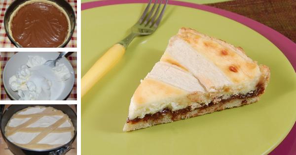 Crostata Mascarpone E Nutella La Ricetta Di Gnam Gnam