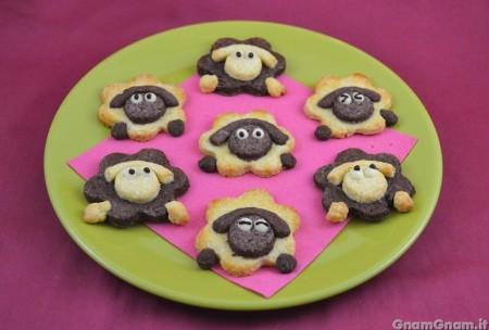 Biscotti forma di pecorella