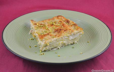 Lasagne al pistacchio