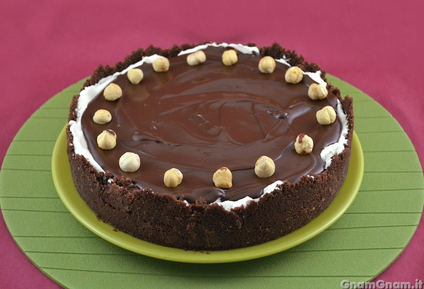 Torta mascarpone e nutella