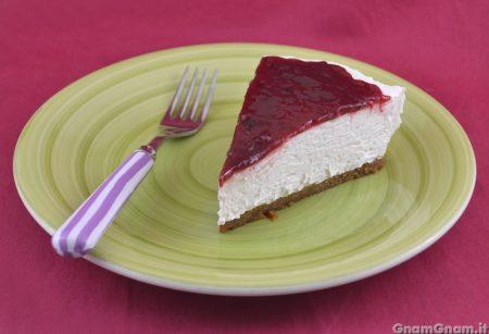 Cheesecake vegana