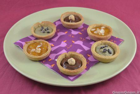 Tartellette dolci