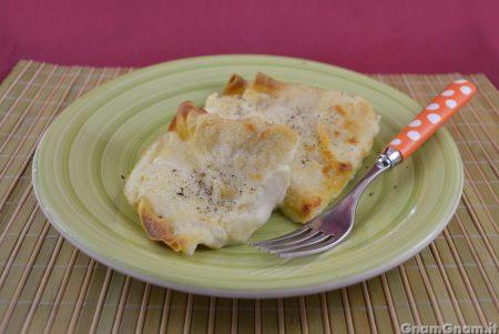 Crepes prosciutto e formaggio