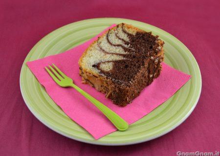 Chiffon cake al cacao e vaniglia