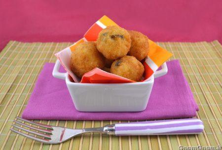 Crocchette di riso cozze e pecorino