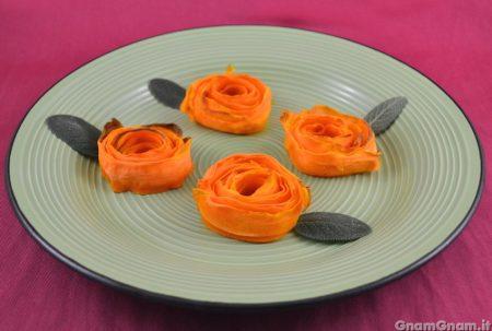 Roselline di carote