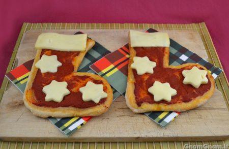Pizzette a forma di calza