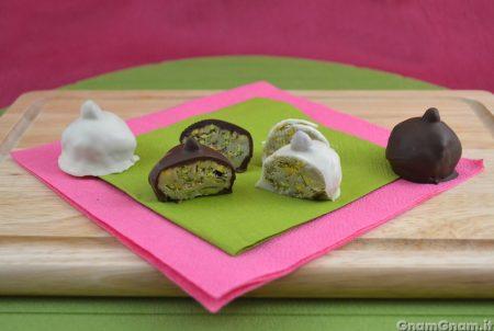 Baci perugina al pistacchio