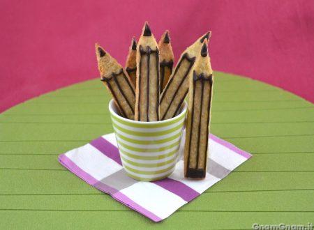 Biscotti a forma di matita