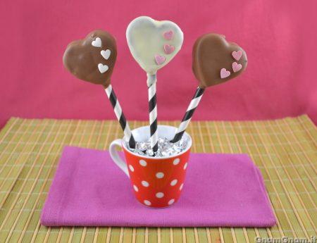 Cake pops di San Valentino