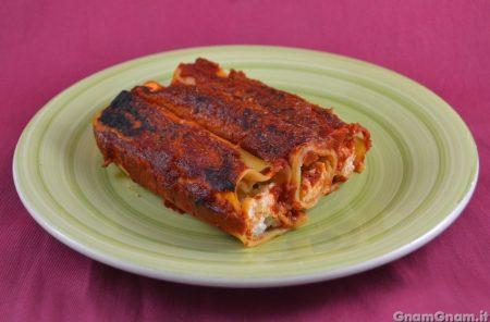 Cannelloni di lasagne