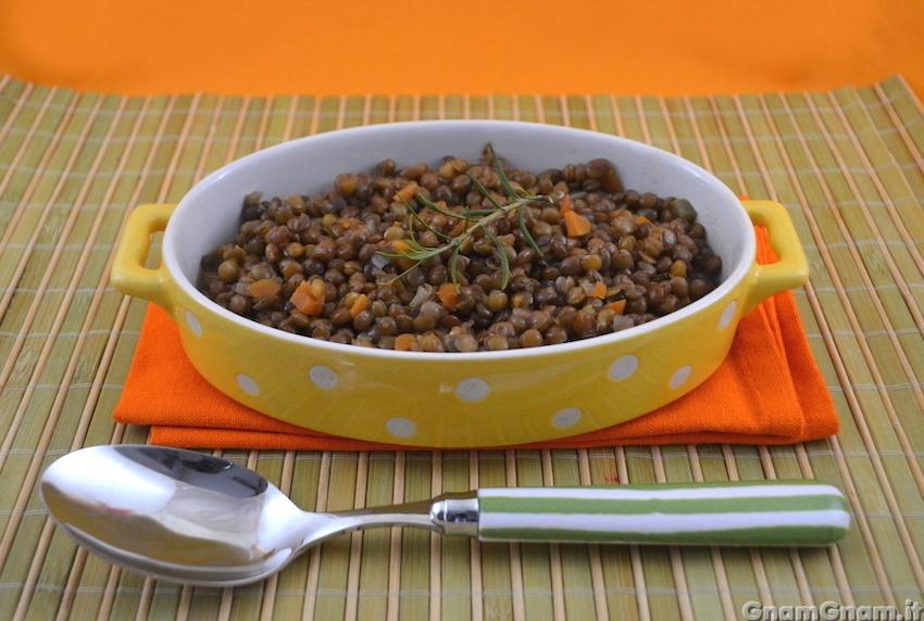 Lenticchie In Umido La Ricetta Di Gnam Gnam