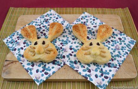 Coniglietti di pasta sfoglia