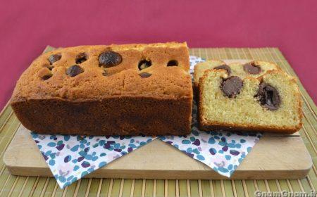 Plumcake con ovetti di cioccolato