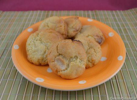 Cookies limone e cioccolato bianco