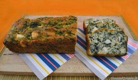 Plumcake ricotta e spinaci