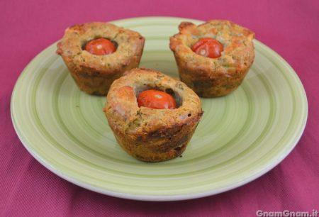 Caprese muffin