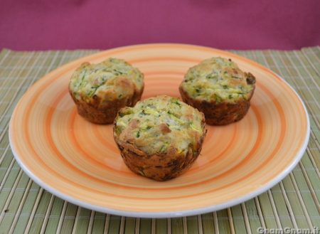 Muffin tonno e zucchine