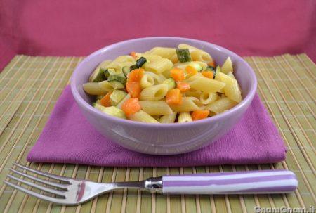 Pasta zucchine e carote