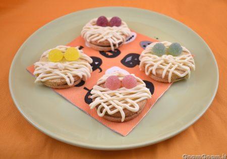 Biscotti mummia alla nutella