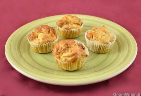 Muffin verza e speck