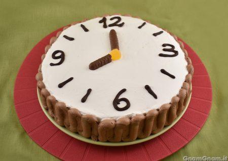 Torta orologio