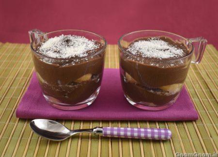 Dessert cocco e nutella